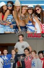 Dancer girls and Vine boys by fanlifeofmagcon