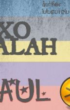 EXO SALAH GAUL by lulucutelu