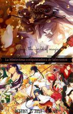La misteriosa conquistadora de laberintos  Magi  by YukiKuroi15