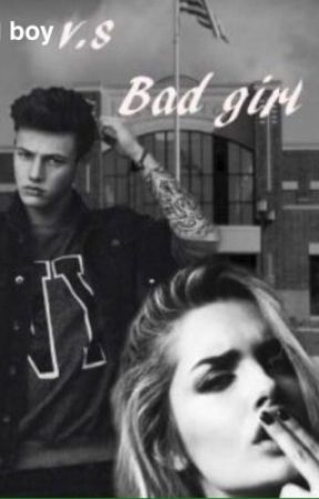 Bad boy vs Bad girl by school_love_storys