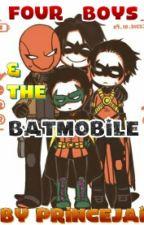 Four Boys & The Batmobile by PrinceJai