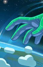 Peridot X Gem!Reader, lost in space by cosmicwolf14