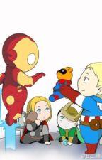 Baby Avengers by merlin_fanfics