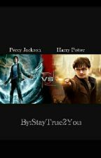 Percy Jackson vs. Harry Potter by StayTrue2You