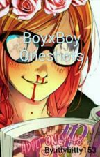 BoyxBoy Oneshots by ittybitty153