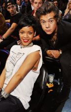 Harry Styles and Rihanna by cupcakes_2002