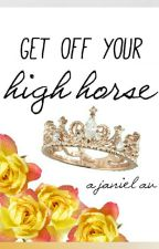 janiel // Get Off Your High Horse by spraypaintedgold