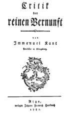 La critica de la razón pura - Immanuel Kant (COMPLETO) by adrianamyrg