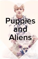 Puppies and Aliens(V X Reader Love Triangle) by RinNeko321