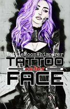 Tattoo on Her Face by LittleMoonWhisperer