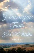 I Love You From 36.000 kaki by ThaniaSetiawan