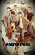 The Outsiders Preferences by beautifulxoutsiders