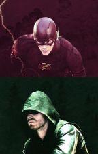 The arrow/ the flash. by Rubirex