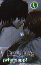 Death Note... ¡WHATSAPP! «LENTA» by everybodysgay