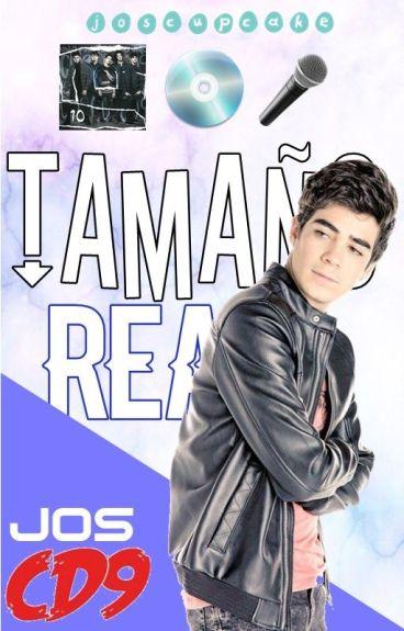 Tamaño real ➳ Jos Canela