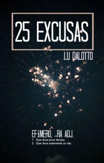 25 Excusas [#Wattys2016]