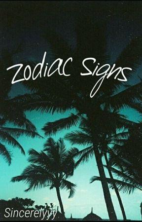 Zodiac Signs by sincerelyyy