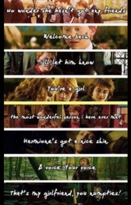 from Tomas harry and hermione secretly dating fanfiction