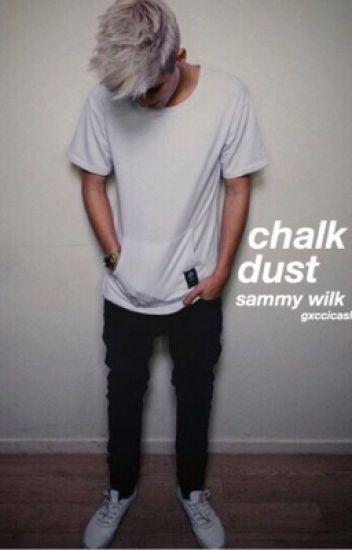 chalk dust / s.w.