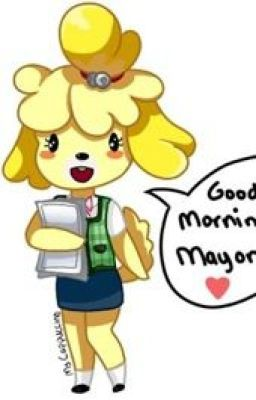 Animal crossing isabelle x mayor