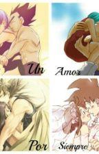 Un amor por siempre ( Goku y Milk & Bulma y Vegeta) En EDICIÓN by PizzaGalaxy_28