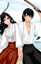 Inuyasha Remix: Kagome and Koga by Da_Wolf_Goddess