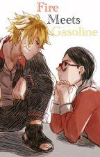 Fire Meets Gasoline *BoruSara* by animefreakz202