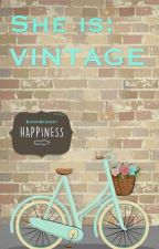 She is: Vintage by EmmaBudget