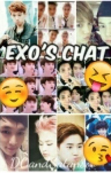EXO's CHAT!! [slash/yaoi][funny]