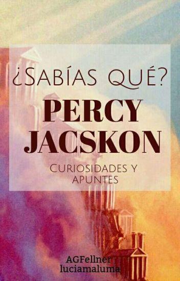 ¿Sabías qué? Percy Jackson
