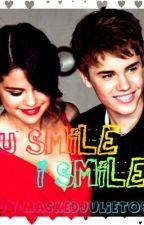 You Smile...I smile (a justin bieber love story) by Maskedjuliet09