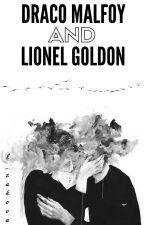 Draco Malfoy and Lionel Goldon by lzakova