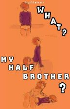 What? My Half Brother?   Larry by huffever