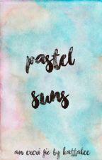 Pastel Suns - Ereri/Riren by Kattalee