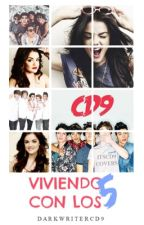 Viendo con los 5  CD9 y tu ____ by darkwritercd9