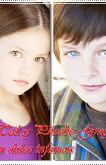 Ted y Phoebe Grey: su dulce infancia