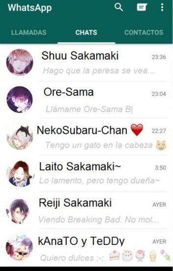 Chateando con los Sakamaki