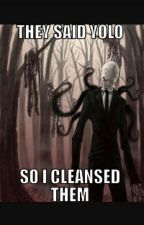 slenderman x reader the 8 pages  by litterbug12