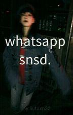 whatsapp; snsd. by liutuxn32