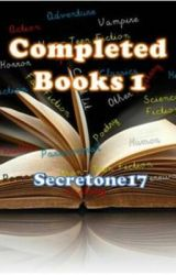 Completed Books 1 by secretone17