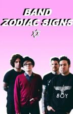 Band Zodiac Signs by nicotinehearts