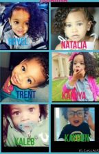 Tyga, Chris brown, August alsina daughters by Zaddymarie
