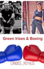 Green Irises & Boxing h.s by candice_royalis