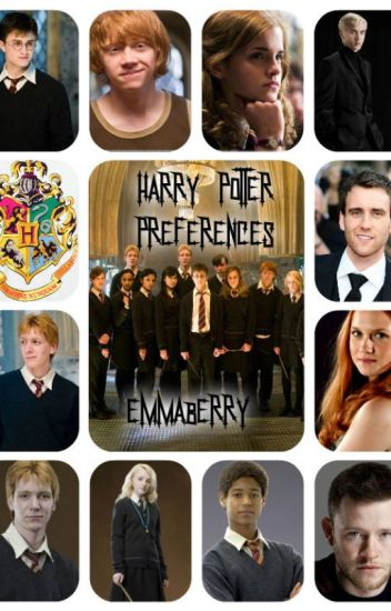 Harry Potter Preferences (REQUESTS CLOSED)