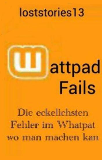 Wattpad Fails