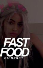 fast food ; j.g by biebnsky