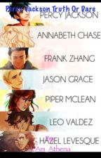 Percy Jackson and the Olympians Play Truth or Dare by SassyAthena