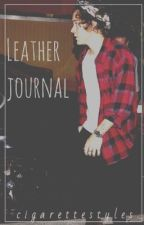 leather journal / h.s by cigarettestyles