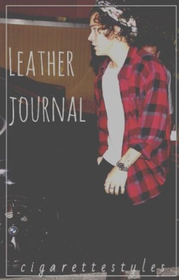 leather journal / h.s