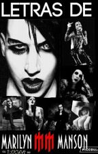 Letras de Marilyn Manson by Skyy_Black